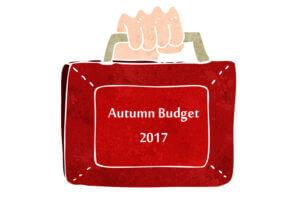 Autumn Budget 2017 Banner